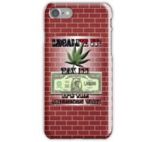 Legalize Marijuana iPhone Case/Skin