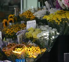 San Francisco Flower Stand by Melodee Scofield