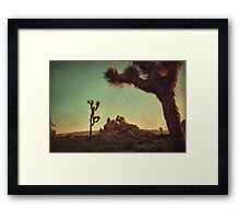 Looming  Framed Print