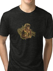 4th Doc and Scarf Tri-blend T-Shirt