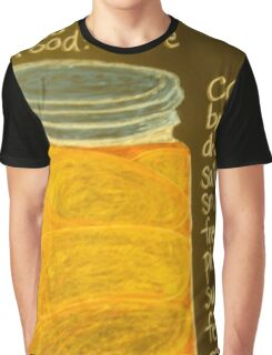 Old Ball Jar of Peaches Graphic T-Shirt