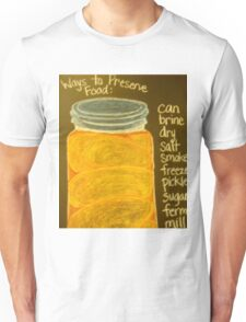 Old Ball Jar of Peaches Unisex T-Shirt