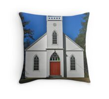Bear River Anglican Church Throw Pillow