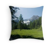 Hike to Griesbachalm Throw Pillow