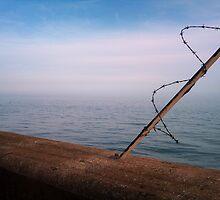 Dusk over Folkestone (1 of 3) by Identiphobe