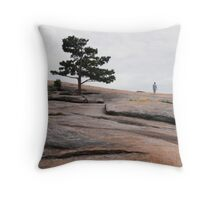 Stone Mountain Walker Throw Pillow