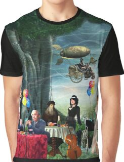 Stephen Hawking's Party Graphic T-Shirt