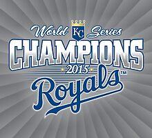 Royals Champions by Jimmy Rivera