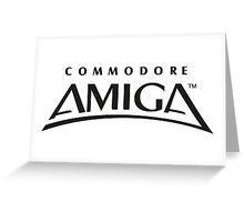 Commodore Amiga Greeting Card