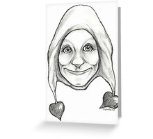 """The Hearten One""  Greeting Card"