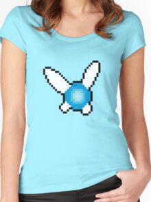 Pixel Navi Women's Fitted Scoop T-Shirt