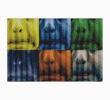 Warhol meets Vasarely II - Pig brother by NafetsNuarb