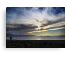 The Sky is Exploding Canvas Print