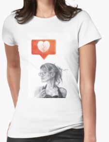 Another Song about Heartbreak Womens Fitted T-Shirt