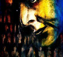 T.S. Eliot Contemplates The Hollow Men... by ©Janis Zroback