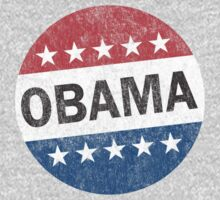 Vote Obama 2012 Vintage Button Shirt by ObamaShirt