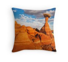 The Toadstools Throw Pillow