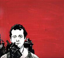 Bill Murray 2 by StudioTricktop