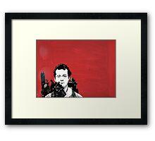Bill Murray 2 Framed Print