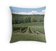 The Vinter's Office Throw Pillow