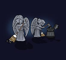 Sweeping Angels by boggsnicolas