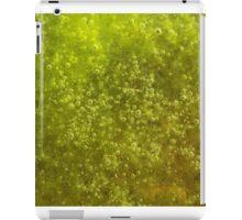 Green algae with air bubbles iPad Case/Skin