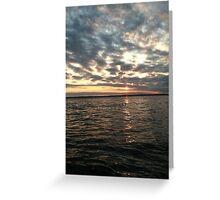 Chatham Sunset Greeting Card