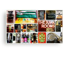 The Junk Rooms ~ Stirling Canvas Print