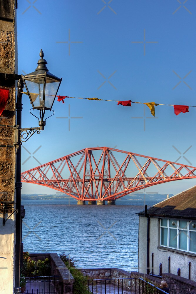 Bridge and Bunting by Tom Gomez