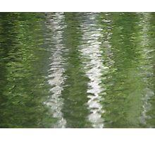 Wet Streaks Photographic Print
