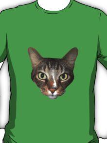 Moggy Cat Face T-Shirt