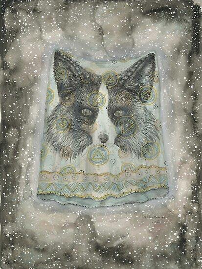 Silver Fox by brettisagirl