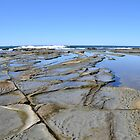 Rocks at Dicky Beach by TheaShutterbug