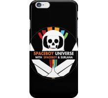 Spaceboy Universe Webcast Logo iPhone Case/Skin