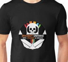 Spaceboy Universe Webcast Logo Unisex T-Shirt