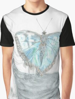 """Spread Your Wings (""""Be OK"""" Butterfly) Graphic T-Shirt"""