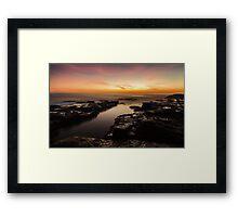 Light in the Channel Framed Print