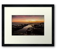 Light in the Channel Framed Print