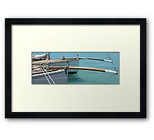 Couta Boats  Framed Print