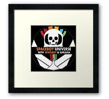 Spaceboy Universe Webcast Logo Framed Print