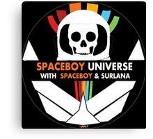 Spaceboy Universe Webcast Logo Canvas Print