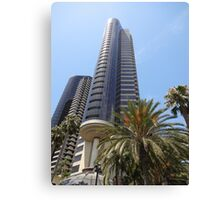 San Diego California City Metro Buildings Canvas Print