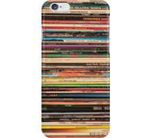 Vinyl Records Alternative Rock iPhone Case/Skin