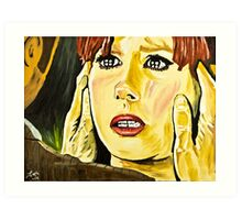 The Doctor Donna Art Print