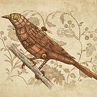 Copper Song Bird  by Terry  Fan