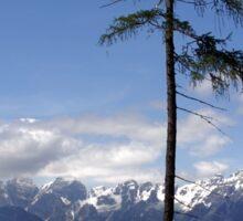Overlooking Stubaier Alps  Sticker