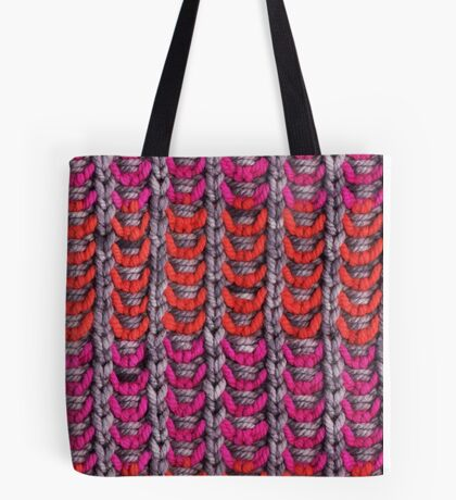 Neon Mikkey Knit Tote Bag