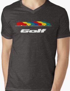 VW Golf Mens V-Neck T-Shirt