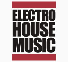 Electro House Music  Kids Clothes