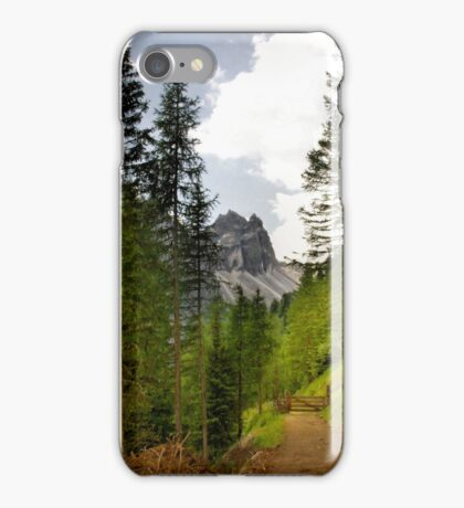 View  Mountain  Ilm Spitze  iPhone Case/Skin